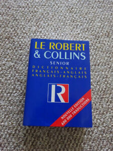 French Dictionary  Le Robert & Collins