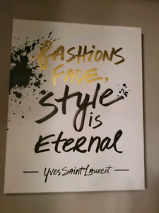 Fashions Fade Canvas