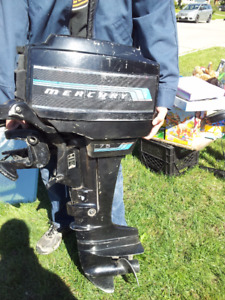 7.5 hp Mercury outboard