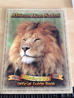 African Lion Safari 30th Anniversary Official Guide Book
