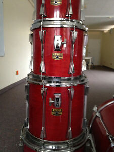 Tama Artstar II - 7 piece Shell Kit + cases West Island Greater Montréal image 4