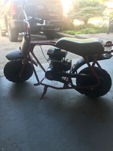 Gas mini bike