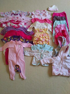 Selection of Girls 3-6 Month Clothing