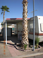 33 ft Terry Travel Trailer on lot in RV Park,  Yuma AZ for Sale