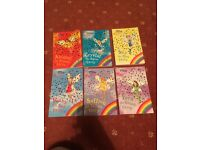 6 Rainbow Magic Fairies books