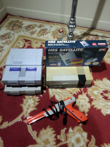 Video games and console lot