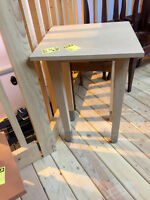 Tall Square Table