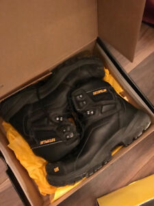 CAT winter work boots