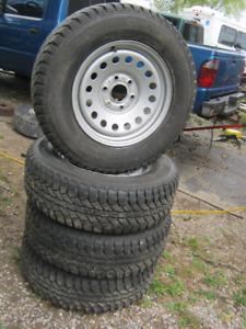 GM Winter Rim and Tire Set LT245/70.17