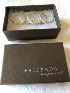 Silpada Sterling Silver Stacking Rings