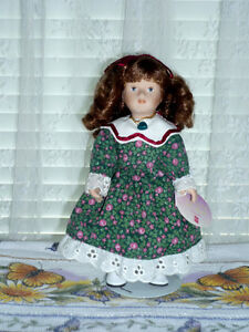 "Porcelain ""December"" Doll by RUSS : Clean:LikeNEW:Smoke Free Kitchener / Waterloo Kitchener Area image 3"