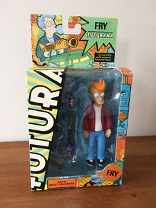 Futurama Philip J Fry action figure MISB