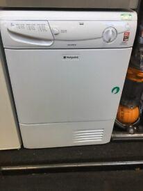 Hotpoint white tumble dryer