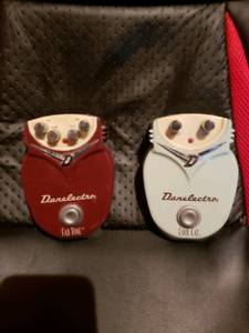 '90s Danelectro 18V Cool Cat Chorus and Fab Tone Distortion