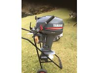 Yamaha 15 Hp 2 stroke outboard / Susuki 3.2 dinghy with alloy deck