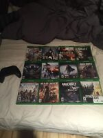 Xbox one games and controller