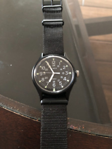 Men's Timex MK1 Aluminum 40mm Nylon Watch