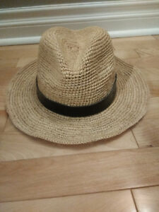 GAP Packable Straw Fedora Hat for Sale!