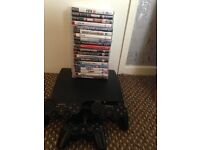 PS3 3 controllers plus all games
