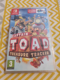 Captain toad treasure tracker. New and sealed.
