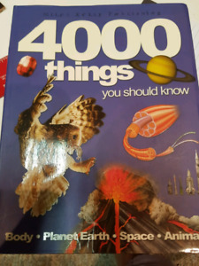 4000 Things You Should Know book