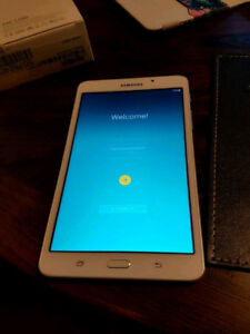 Barely used Samsung galaxy Tab A tablet