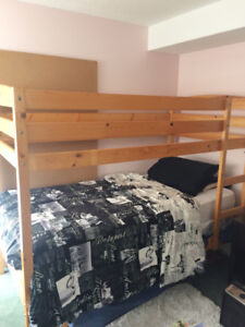 Bunk Bed (wood, natural color)