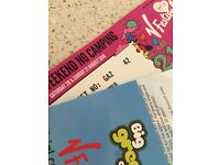 V FESTIVAL WEEKEND TICKET FOR WESTON PARK (non camping)