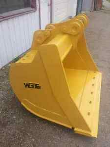 WGT Ditching/Cleanup Bucket - Excavator/Backhoe