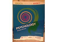 Edexcel Year One Psychology Text Book by Christine Brain