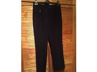 Size 12 Black M&S Trousers