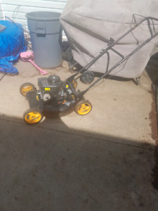 I'm selling a lawn mower