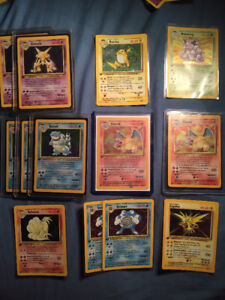 Rare Pokemon Cards - base set & first edition! Sale or MtG Trade