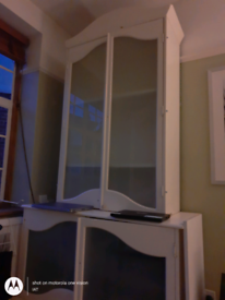 FREE Two white cabinets