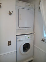 Maytag APARTMENT size STACKING W/D