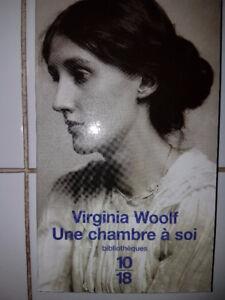 Une chambre à soi de virginia woolf