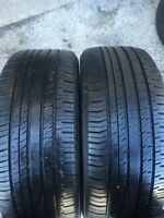 2-235/55/17 Nokian all season tires