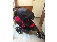 Phil & Teds Explorer Double Buggy - Brand New!