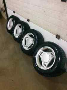 Snow Tires on Rims!!! London Ontario image 1