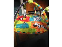 Baby play mat has been used in grandparents' house occasionally and doesn't take up so much space.