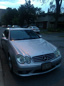 2004 Mercedes Benz CLK55 AMG, auto, 365hp, Formula1 safety car