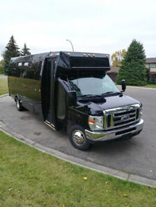 LIMO BUS FOR SALE - FORD E450