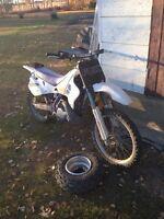 Yz 250 trade for quad