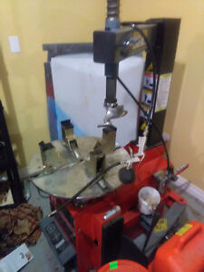 Tire changer ,wheel balencer, compressor