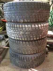 195/60/14 Yokohama iceguard ig20 winter tires, Honda/Acura rims Oakville / Halton Region Toronto (GTA) image 2