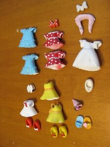 POLLY POCKET DISNEY MINNIE MOUSE CLOTHES dresses