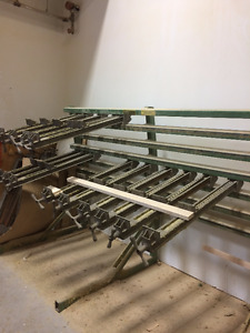 CLAMP RACK for solid lumber