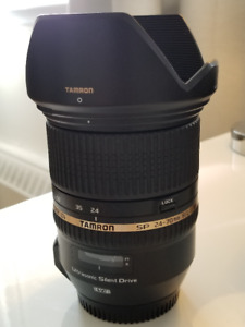 TAMRON SP 24-70MM F 2.8 LENS CANON