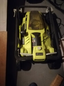 NEW RYOBI 16 IN. 40 VOLT LITHIUM BATTERY LAWNMOWER no battery
