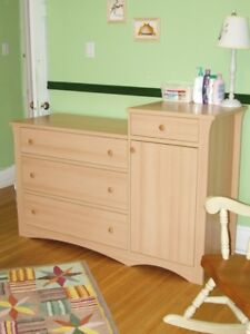 Children's Dresser / Change Table with Night Stand